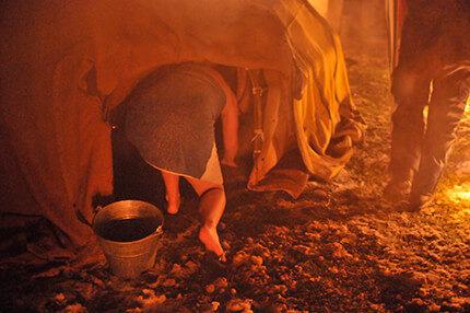 Eine Schwitzhütte ist mehr als eine Natur-Sauna …